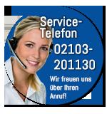 Service-Telefon: 02103 - 201130