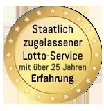 Staatlich zugelassener Lotto-Service